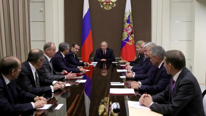 СовбезРФ обсудил успехи русских ВКС вСирии