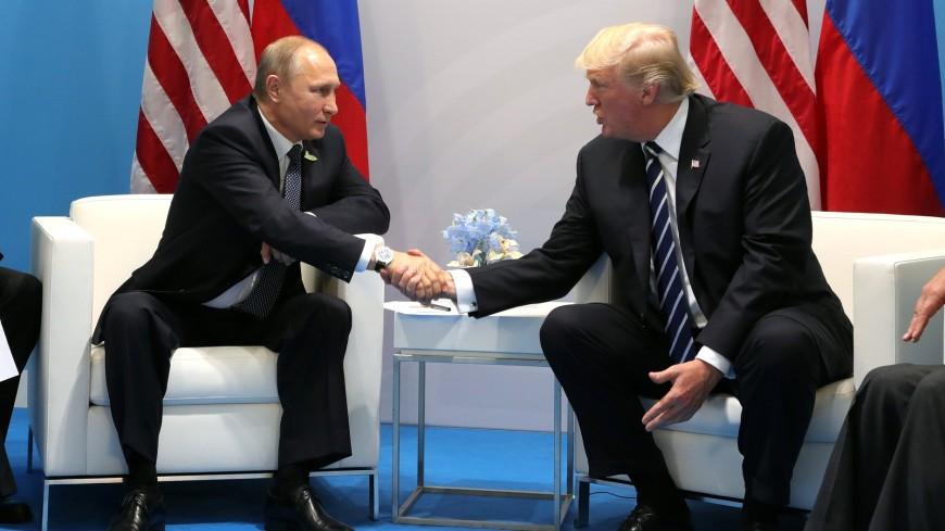 Путин поведал о собственных отношениях сТрампом
