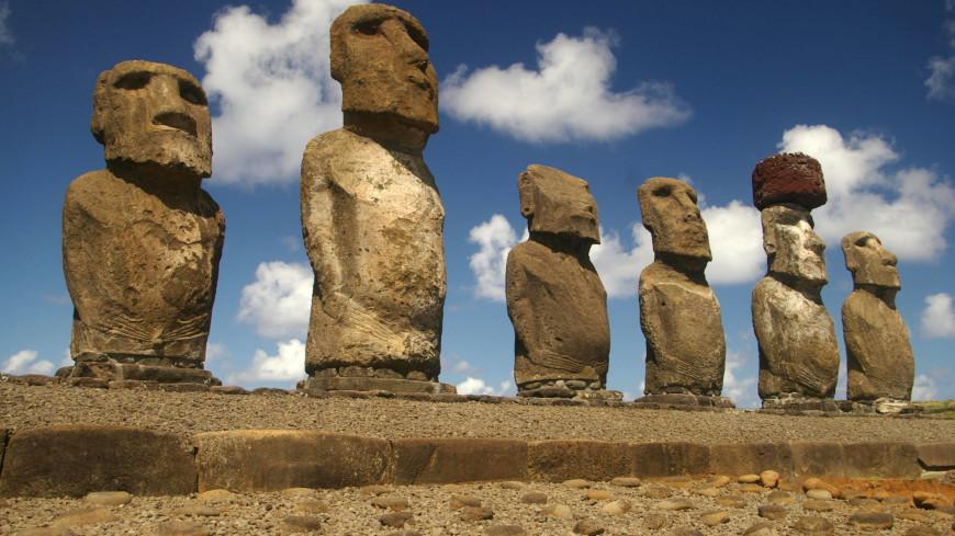 Жители острова Пасхи до XVIII века не знали других людей