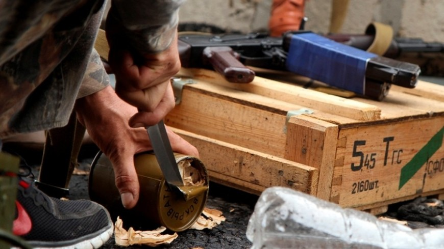 Убоевиков вСирии отыскали оружие НАТО