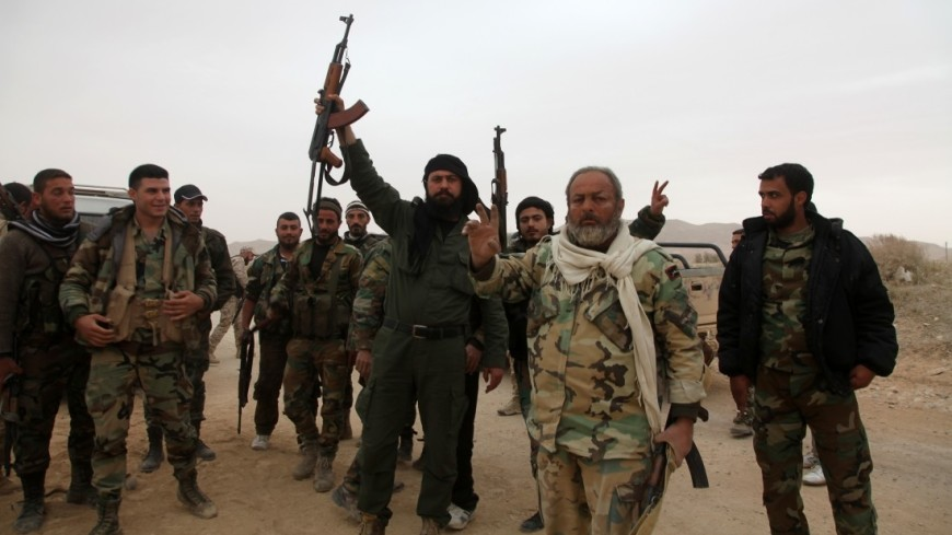 Армия Сирии полностью освободила Меядин от боевиков