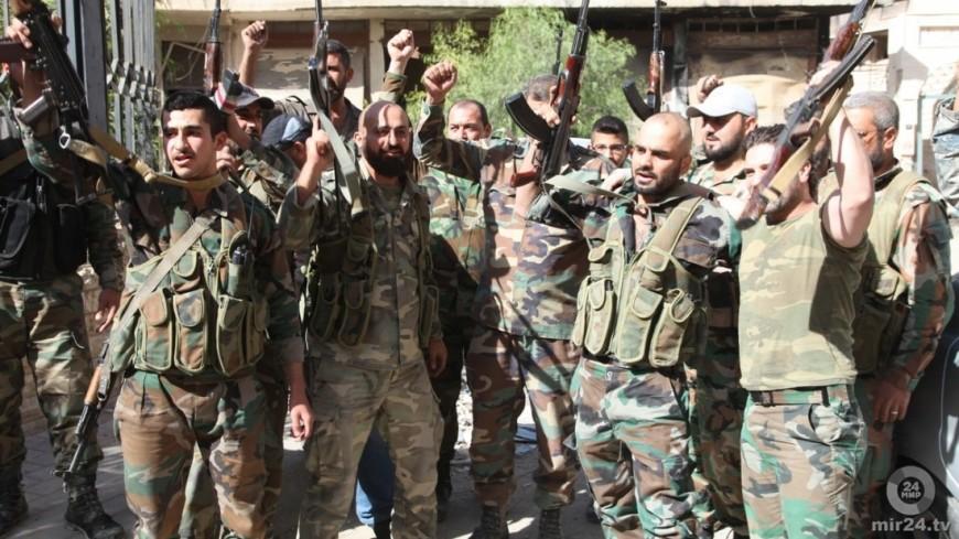 Сирийские войска вкоторый раз вытеснили исламистов изгорода Эль-Карьятейн