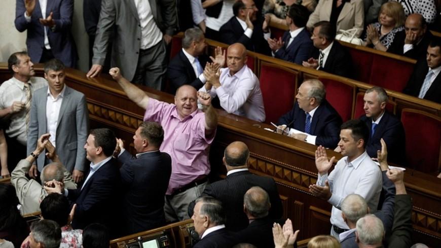 На «народном вече» Саакашвили произошла драка