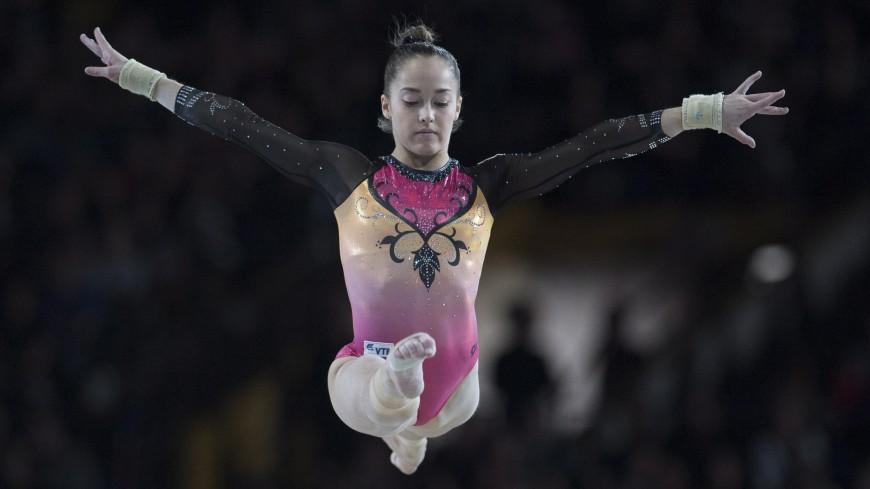 Еремина выиграла серебряную медаль в упражнении на брусьях