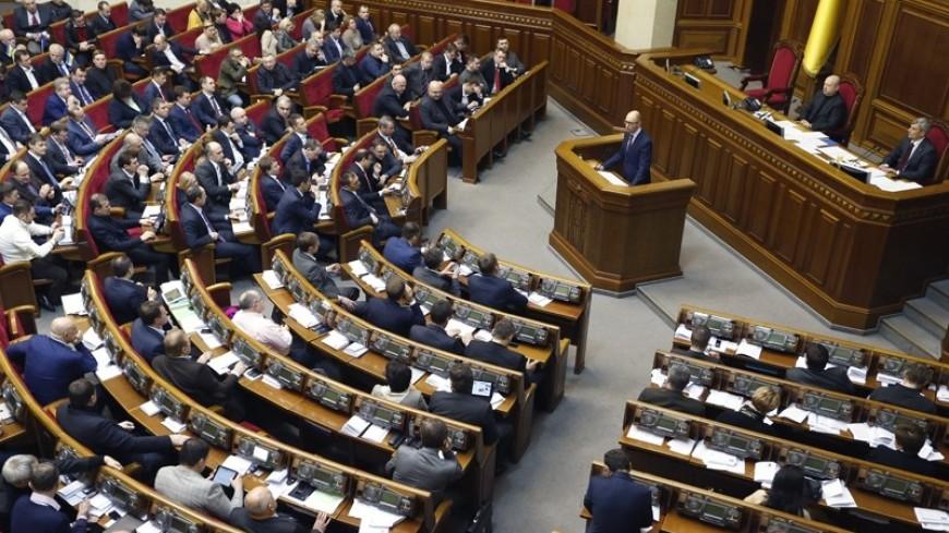 Рада приняла законодательный проект ореинтеграции Донбасса впервом чтении
