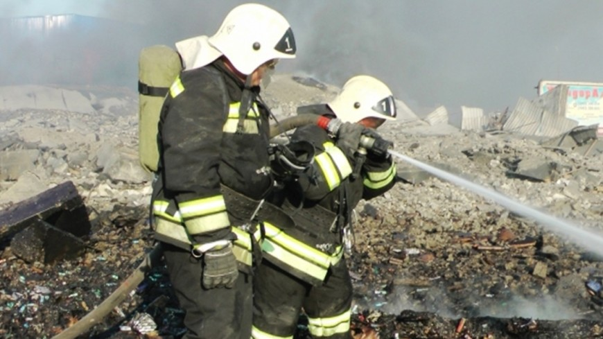 ВМЧС проинформировали оликвидации открытого горения наНПЗ вНижегородской области