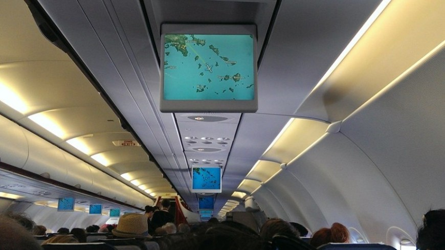 Участник фестиваля молодежи из Таджикистана помог пассажиру самолета