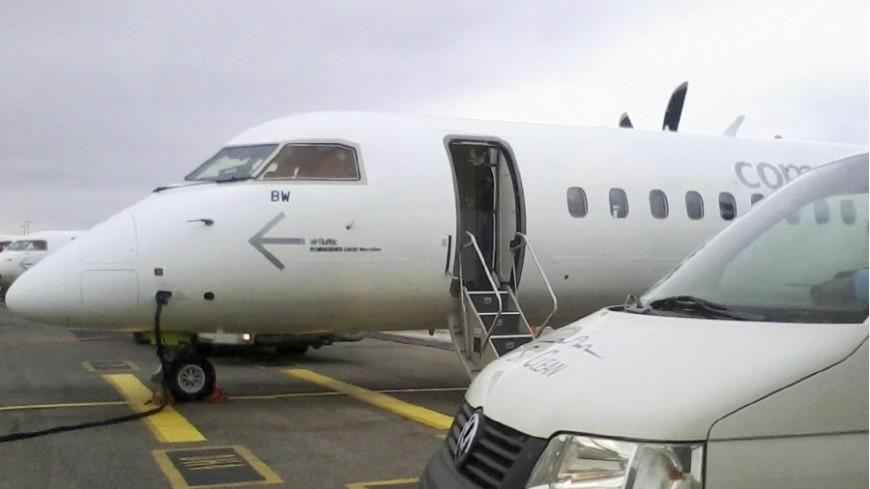 Самый «бесполезный» аэропорт мира принял 1-ый пассажирский рейс