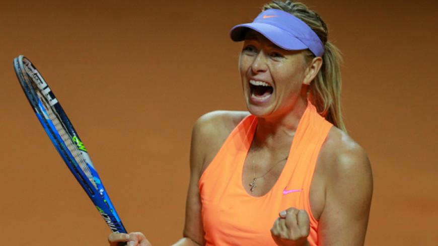 Шарапова впервые с 2015 года вышла в финал турнира WTA