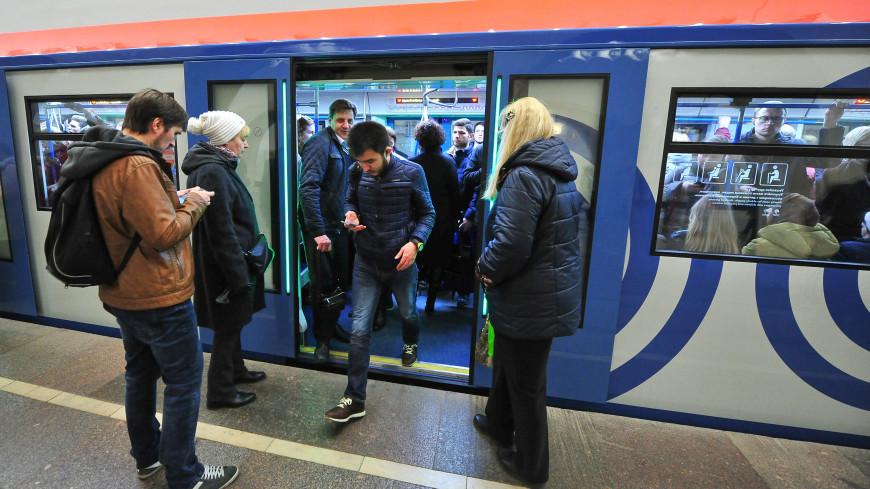 Еще два состава обновленного поколения запустили вмосковском метро