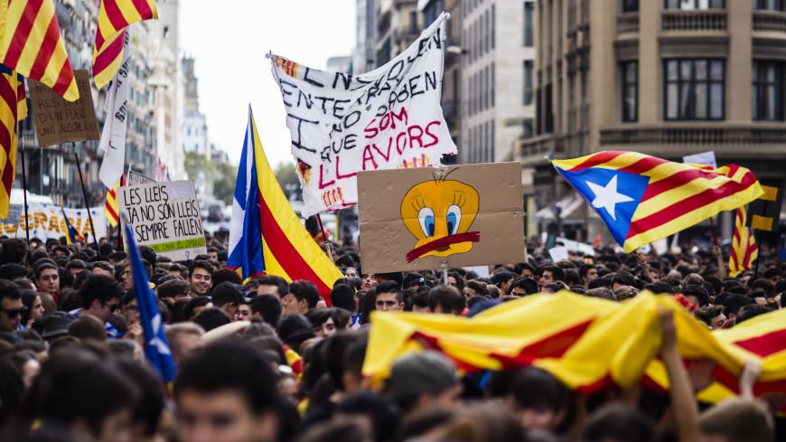 Явка на референдуме в Каталонии превысила 50%