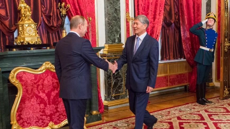Атамбаев наградил Путина орденом «Манас»