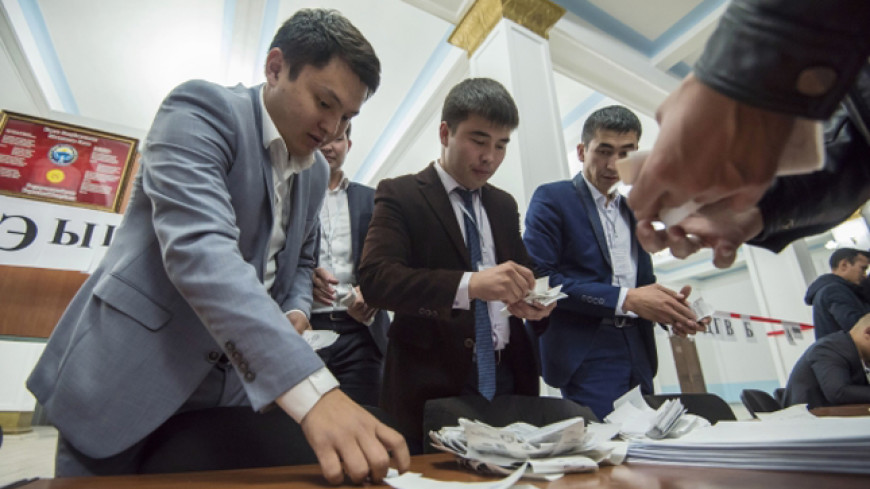 ЦИК Кыргызстана обработал 99% протоколов ручного подсчета голосов