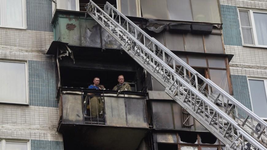 На юге Москвы из огня спасли двух человек