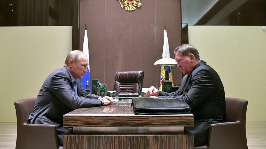 Курский губернатор рассказал Путину о долгах региона