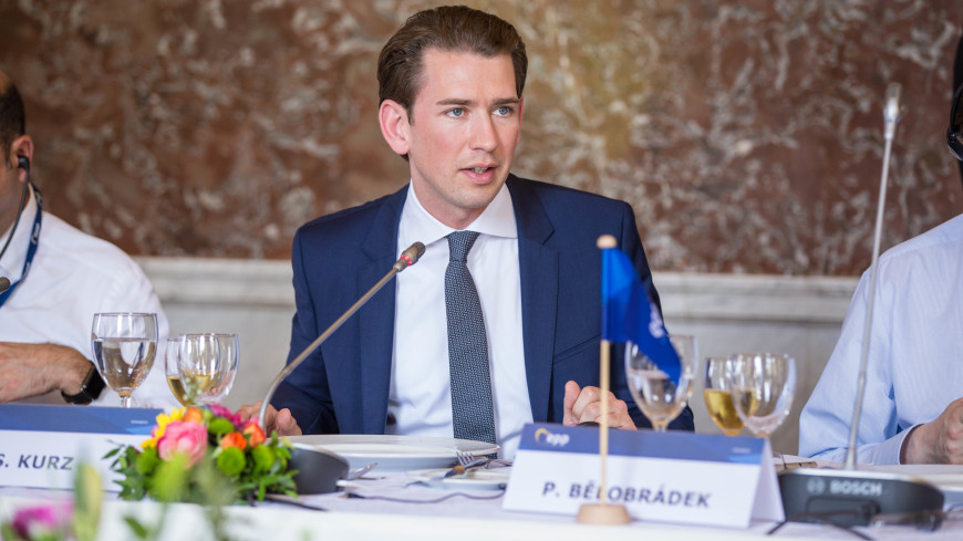 Глава МИД Австрии Курц предложил правым сформировать правительство
