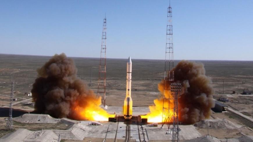"Фото: ""РОСКОСМОС"":http://www.federalspace.ru/, протон-м, байконур, космос, роскосмос, ракета, ракета-носитель"