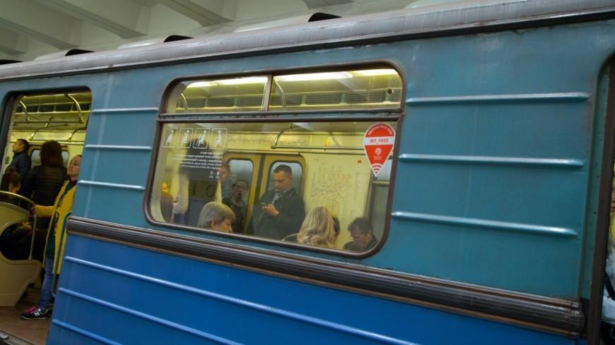 Встолице движение на«фиолетовой» ветке метро вводится вграфик