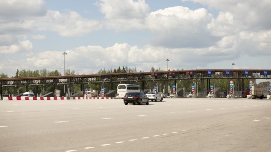 Два участка трассы Москва-Петербург станут платными