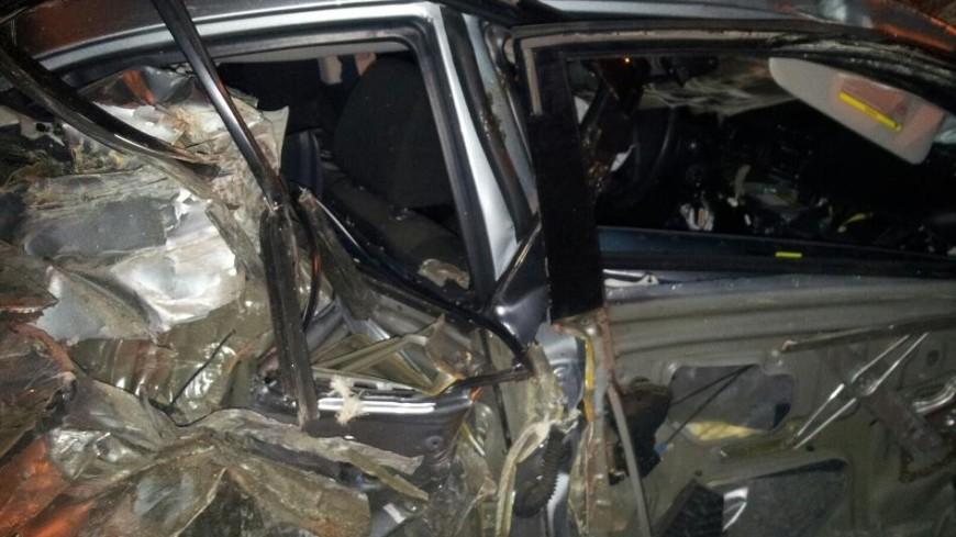Девушку зажало вискореженной машине после ДТП в столицеРФ
