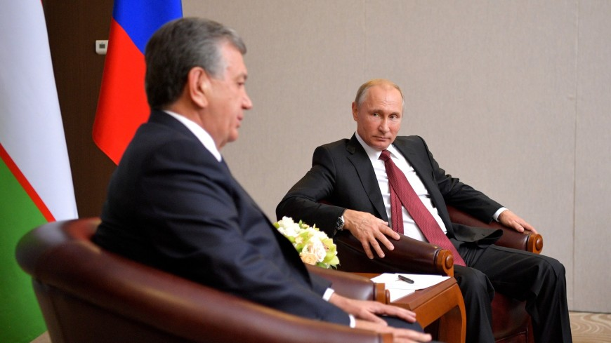Путин подчеркнул рост товарооборота между Россией иУзбекистаном