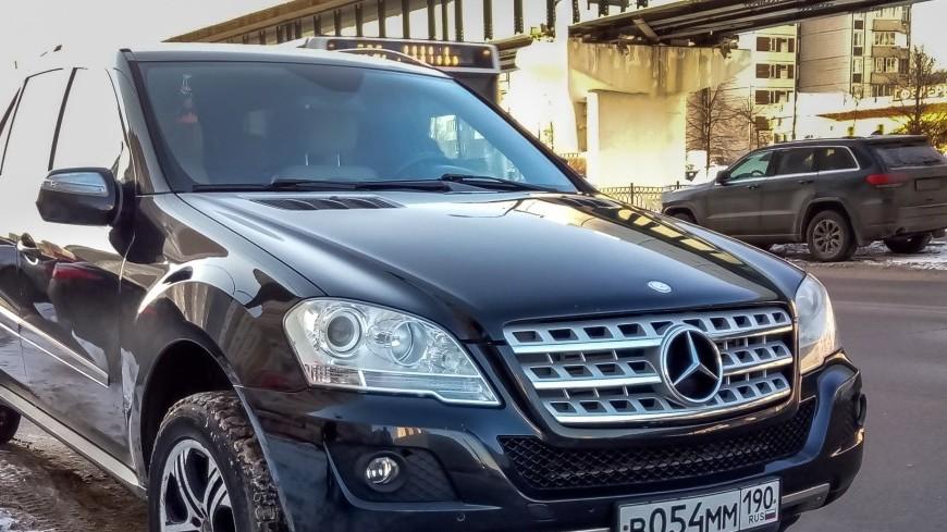 Mercedes отзывает неменее млн машин ссамораскрывающимися подушками