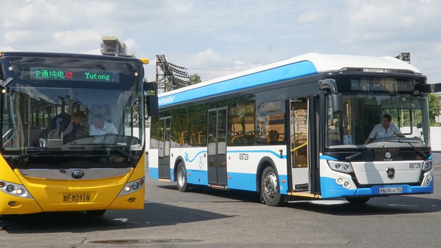 Замена автобусов электробусами улучшит экологию Москвы
