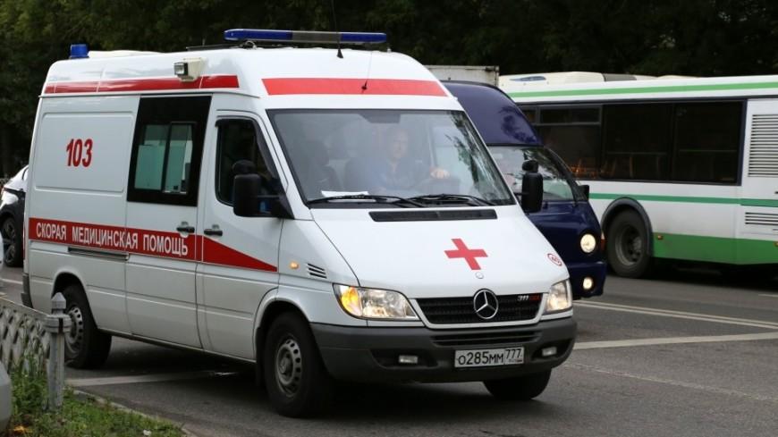 Под Красноярском опрокинулся пассажирский автобус