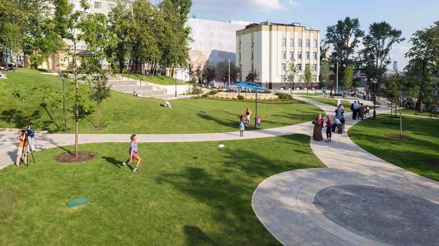 Работы поблагоустройству завершились в40 парках столицы