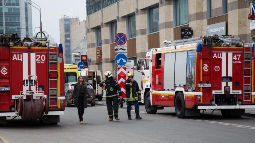 В столице впожаре вквартире пострадали четыре человека