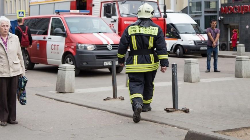 Тела двоих человек найдены при тушении пожара вколлекторе натерритории МГИМО