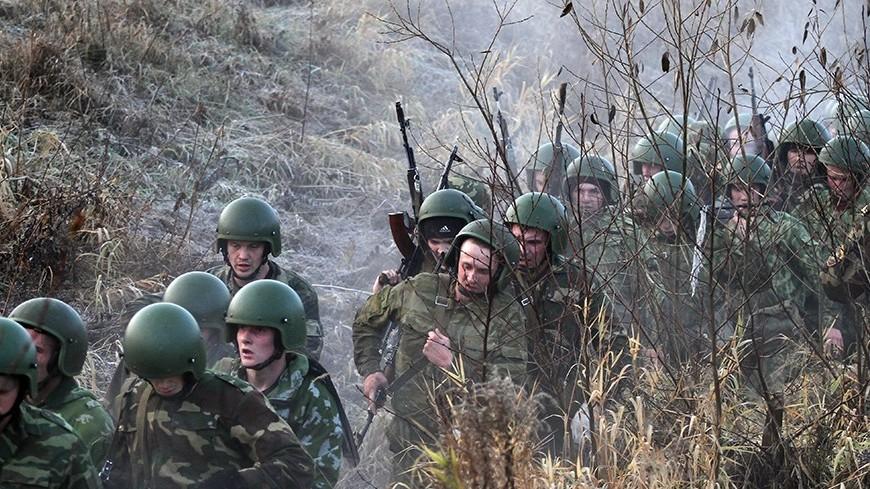 Горные стрелки из Тувы прибыли в Казахстан на учения ОДКБ