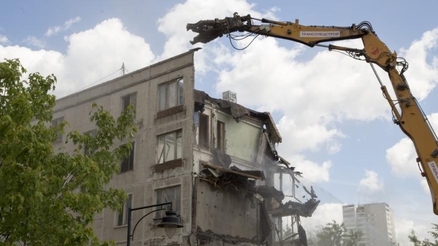 В Москве осталось снести 41 пятиэтажку первого периода
