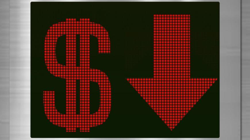 Доллар упал вцене до57 руб. впервый раз ссентября