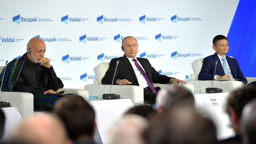 Путин ответил анекдотом навопрос освоем будущем