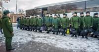В России массово сокращается число призывников