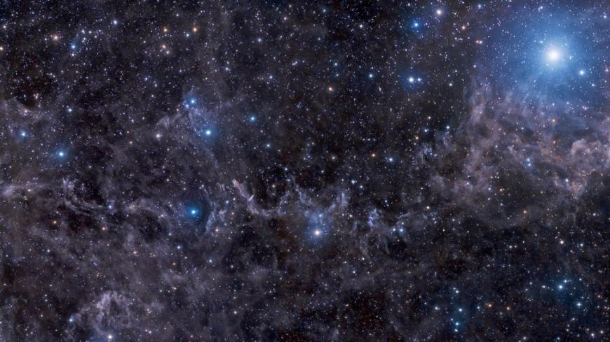 Астрономы получили фотографии гигантского огненного «глаза» вкосмосе