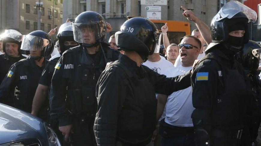 В Одессе в кулачном бою сошлись сторонники и противники Саакашвили