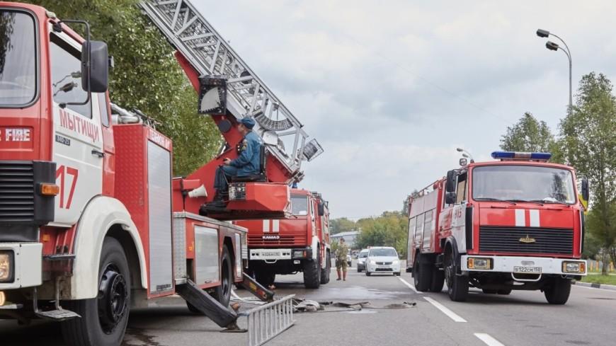 Интенсивный пожар вцентре Ростова навсе 100% устранили