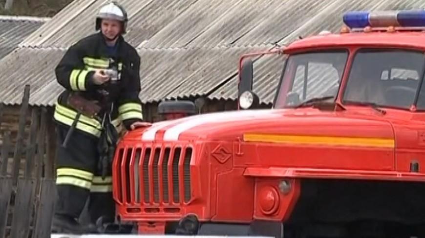 ВПодольске в личном доме произошел пожар