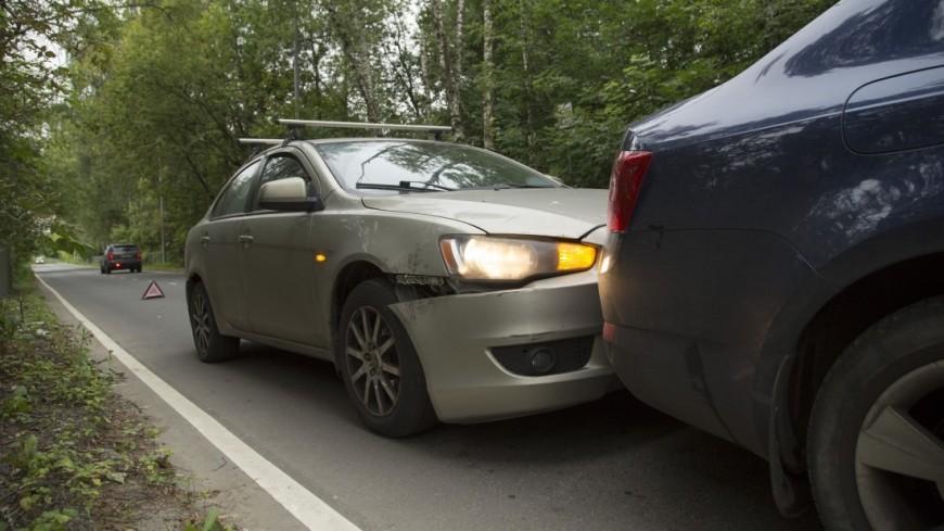 В ДТП на Каширском шоссе с участием трех авто пострадали двое
