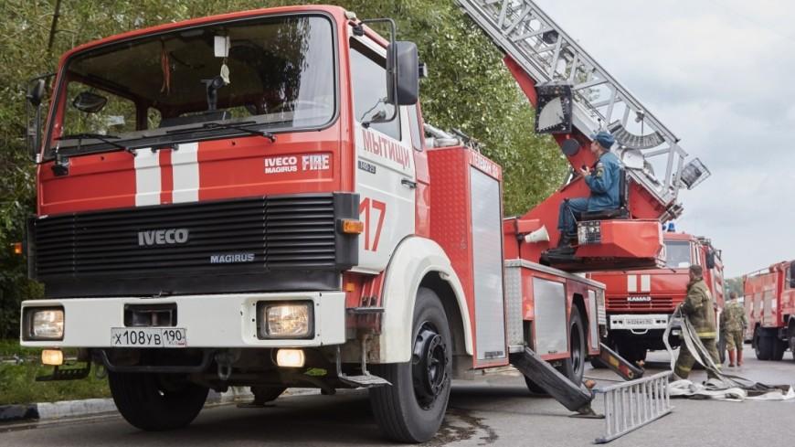 Пожар в бытовке на севере Москвы унес жизни шести человек
