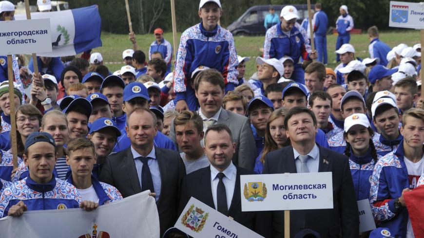 Школьники из России и Беларуси приняли участие в турслете под Витебском