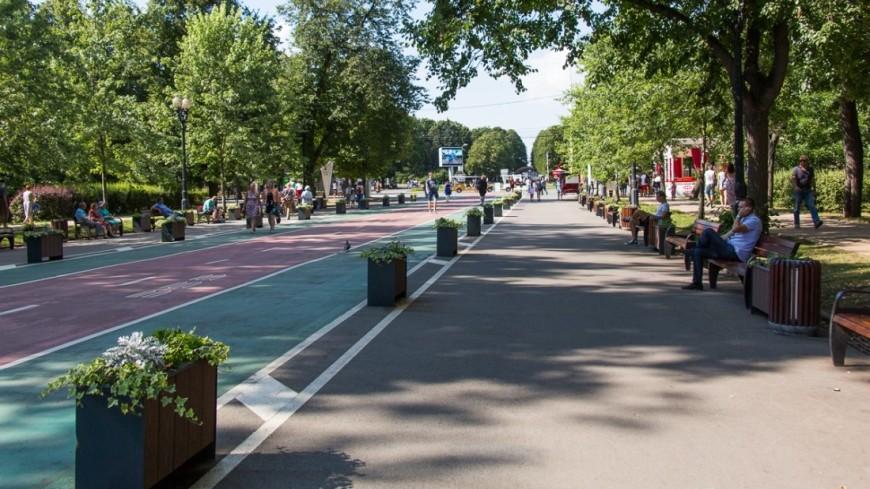 В московских парках отремонтируют пешеходные дорожки