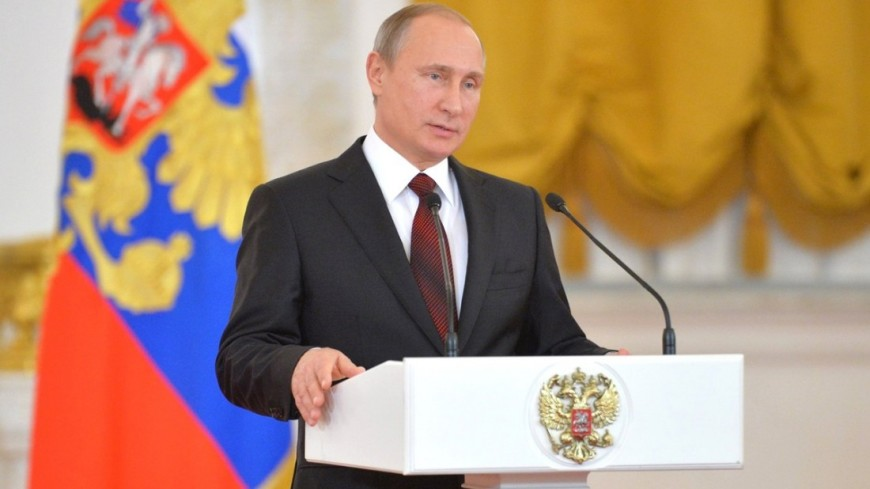 Путин похвалил хоккеистов за гимн и поздравил Телегина с днем рождения