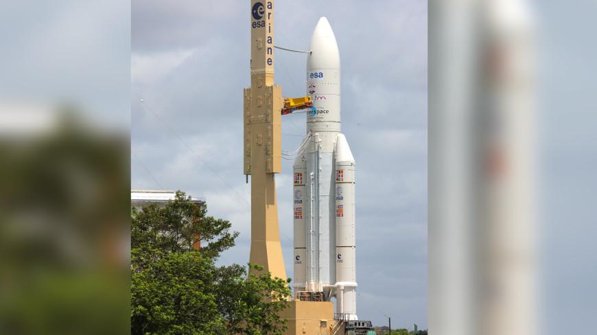 Старт ракеты Ariane 5 был отложен из-за неполадок