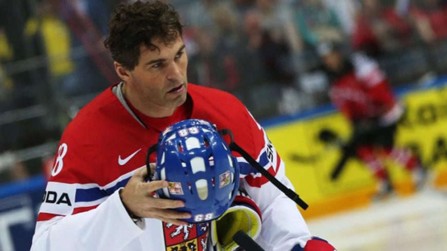 45-летний чешский хоккеист Ягр может сыграть наОИ