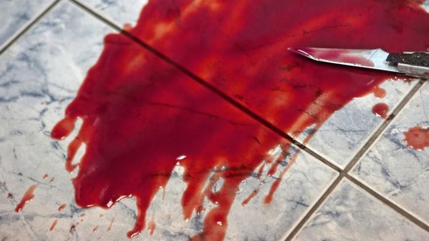 Река человеческой крови изпохоронного бюро затопила улицу