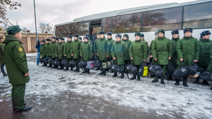 В Российской Федерации стартовал осенний призыв вармию