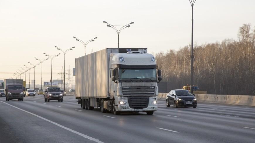 ВАвстрии милиция устроила погоню за нетрезвым водителем фуры из РФ